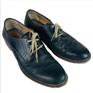 JOHNSON & MURPHY black leather shoes